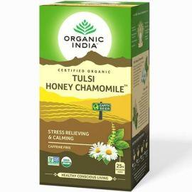 Chá Tulsi revigorante caixa com 25 sachês - Organic India