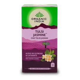 Chá Tulsi cativante caixa com 25 sachês - Organic India