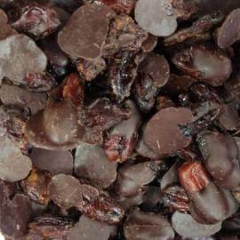 Drageado de tâmara com chocolate 85% 100g