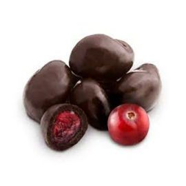 Drageado de Cranberry com chocolate 70% 100g