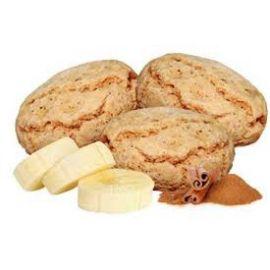Biscoito banana com canela sem glúten, soja e vegano 100g
