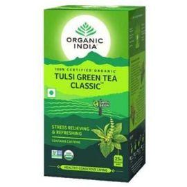 Chá Tulsi com chá verde caixa com 25 sachês - Organic India
