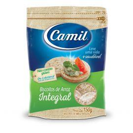 Biscoito de arroz integral 150g - Camil