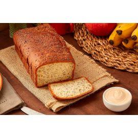 Pão de Cenoura Sem Glúten, lactose e açúcar - Nova Aliança
