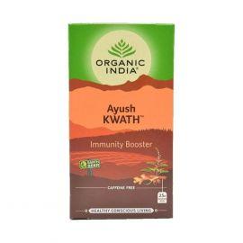 Chá Tulsi Imunidade caixa com 25 sachês - Organic India