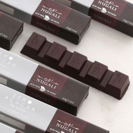 Tablete de chocolate 70% cacau zero açúcar 40g - Nugali