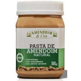 Pasta de amendoim natural 390g - Amendoim e Cia
