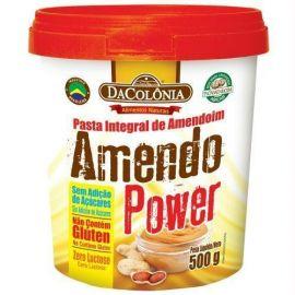 Pasta de amendoim Amendo Power 500g - DaColonia
