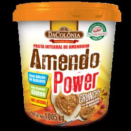 Pasta de amendoim Amendo Power crunchy 500g - DaColonia