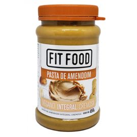 Pasta de amendoim cremosa 450g - FitFood