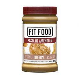 Pasta de amendoim crocante 450g - FitFood