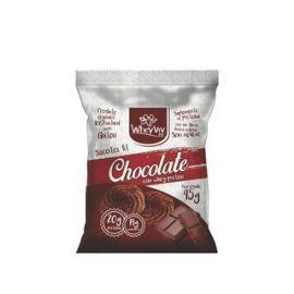 Biscoito Fit de chocolate com whey protein 45g - Wheyviv